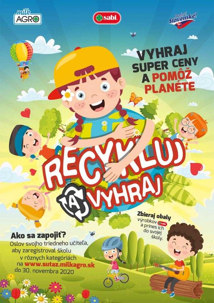 Plagát Recykluj a vyhraj